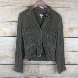 Anthropologie Jackets & Coats - Anthro Odille velvet jacket size 8